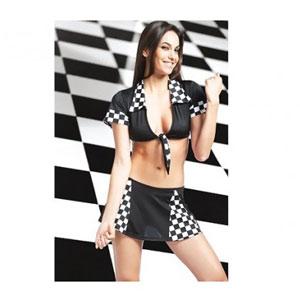 Racer Girl 2pc Costume