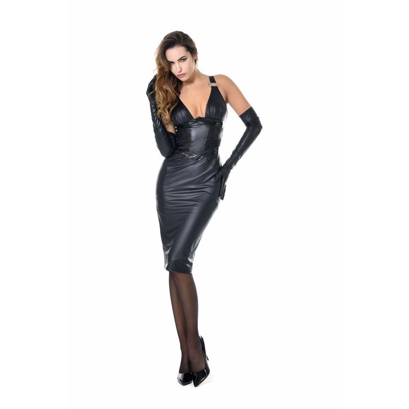 Patrice Catanzaro Holly Wetlook Dress